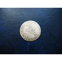 6 грошей. Сигизмунд 3. 1624г.