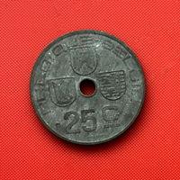 52-15 Бельгия, 25 сантимов 1946 г. Французский тип