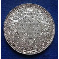 Индия Британская колония 1 рупия 1940