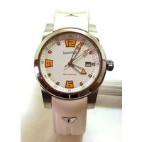 Новые механические швейцарские часы с автоподзаводом Eberhard & Co Scafomatic Automatic Ref. 41026.3 CU WR. Сапфир. Сертификат COSC.