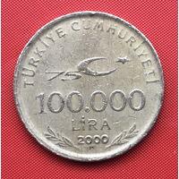 76-27 Турция, 100000 лир 2000 г.