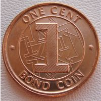 Зимбабве. 1 цент 2014 год  KM#16
