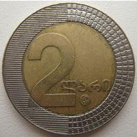 Грузия 2 лари 2006 г.