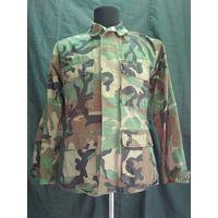 Оригинальная армейская рубаха (китель) Woodland. Б/У. Секондхенд. NATO. USA.
