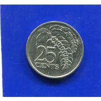 Тринидад и Тобаго 25 центов 2006